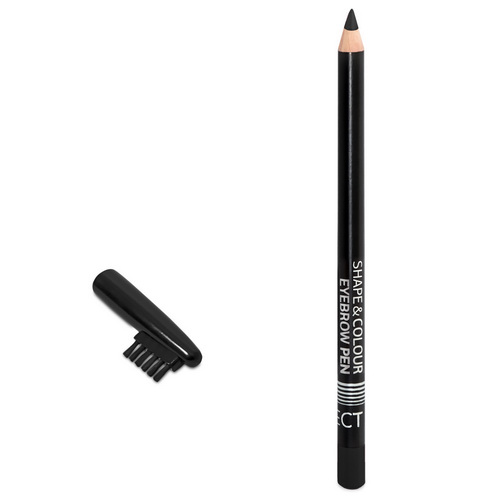 Shape & Colour Eyebrow Pen Black